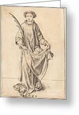 Saint Stephen Greeting Card