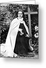 Saint Therese De Lisieux Greeting Card