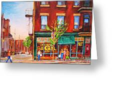 Saint Viateur Bagel Greeting Card