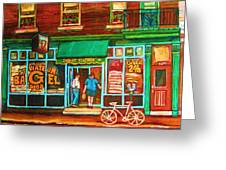 Saint Viateur Bakery Greeting Card