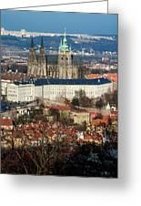 Saint Vitus Cathedral 1 Greeting Card