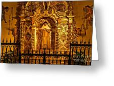 Saints Chapel Greeting Card