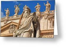 Saints Greeting Card
