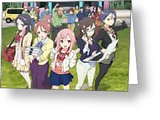 Sakura Quest Greeting Card