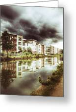Sale Canal Greeting Card by Isabella F Abbie Shores FRSA