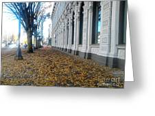Autumn In Salem Greeting Card