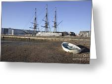 Salem Maritime National Historic Site In Salem  Massachusetts Usa Greeting Card