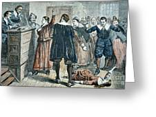 Salem Witch Trials Greeting Card
