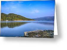 Salen Bay Loch Sunart Greeting Card