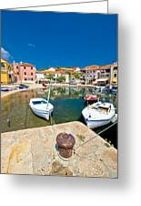Sali Village On Dugi Otok Island Greeting Card