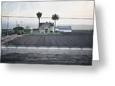 Salinas Valley Victorian Mansion Greeting Card