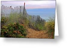 Salisbury Beach Greeting Card