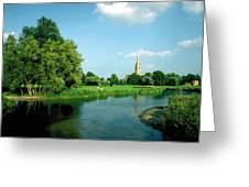 Salisbury Cathedral Greeting Card
