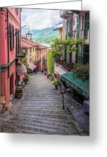 Salita Serbelloni Bellagio Italy Greeting Card