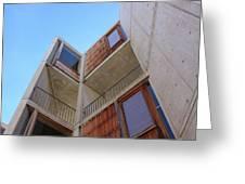 Salk Architecture Greeting Card