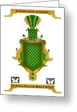 Salkeld Family Crest Greeting Card