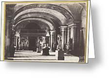 Salle Des Cariatides, Au Mus?e Du Louvre Greeting Card