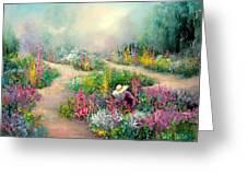 Sally's Garden Greeting Card