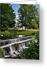 Salmon Falls River Dam Greeting Card