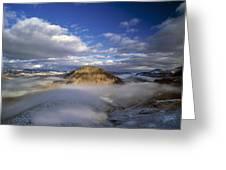 Salmon River Mountains Greeting Card