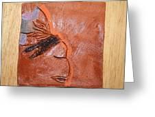 Salon - Tile Greeting Card