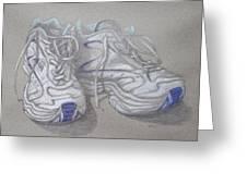 Sal's Sneakers Greeting Card