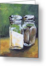 Salt And Pepper I Greeting Card