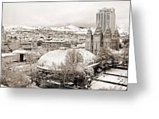 Salt Lake City Landmarks Greeting Card