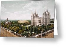 Salt Lake City Greeting Card