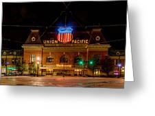 Salt Lake City Union Pacific Depot Greeting Card