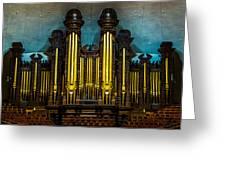 Salt Lake Tabernacle Organ Greeting Card