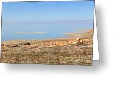 Salt Lake View Greeting Card
