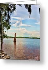 Salt Mine Disactor Monument Jefferson Island Louisiana  Greeting Card