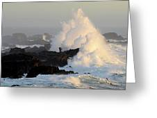 Salt Point Wave Greeting Card