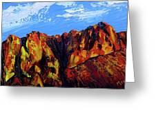Salt River Canyon Greeting Card
