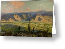 Salt River Irrigation Project - Arizona Greeting Card