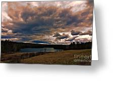 Saltmarsh Pond Gilford Nh Greeting Card