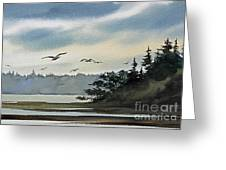 Saltwater Bay Greeting Card