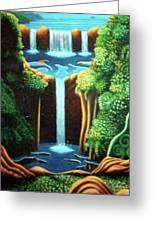 Saltwater Falls 3 Greeting Card