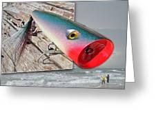 Saltwater Fishing Greeting Card