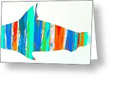 Salty Shark Greeting Card