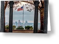 Salute To Cincinnati Greeting Card