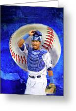Salvador Perez-kc Royals Greeting Card