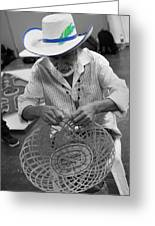 Salvadorean Handcrafter Greeting Card