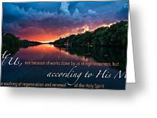 Salvation2 Greeting Card