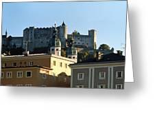 Salzburg Austria 3 Greeting Card