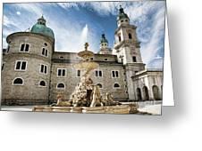 Salzburg Cathedral Greeting Card