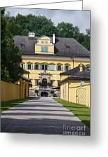 Salzburg Chateau Greeting Card