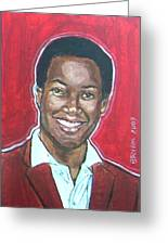Sam Cooke Greeting Card
