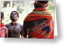 Samburu Tribe Greeting Card